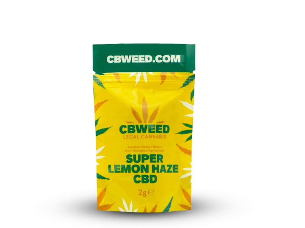 Super lemon haze cbd cbweed 2g