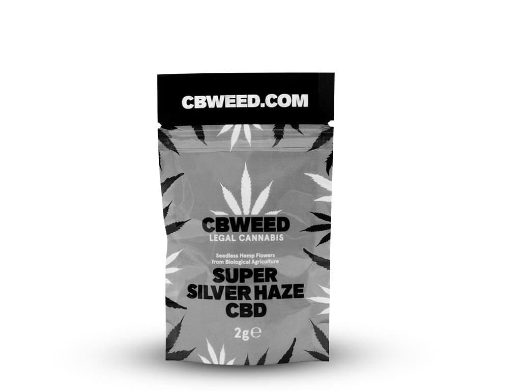Super silver haze cbd cbweed 2g