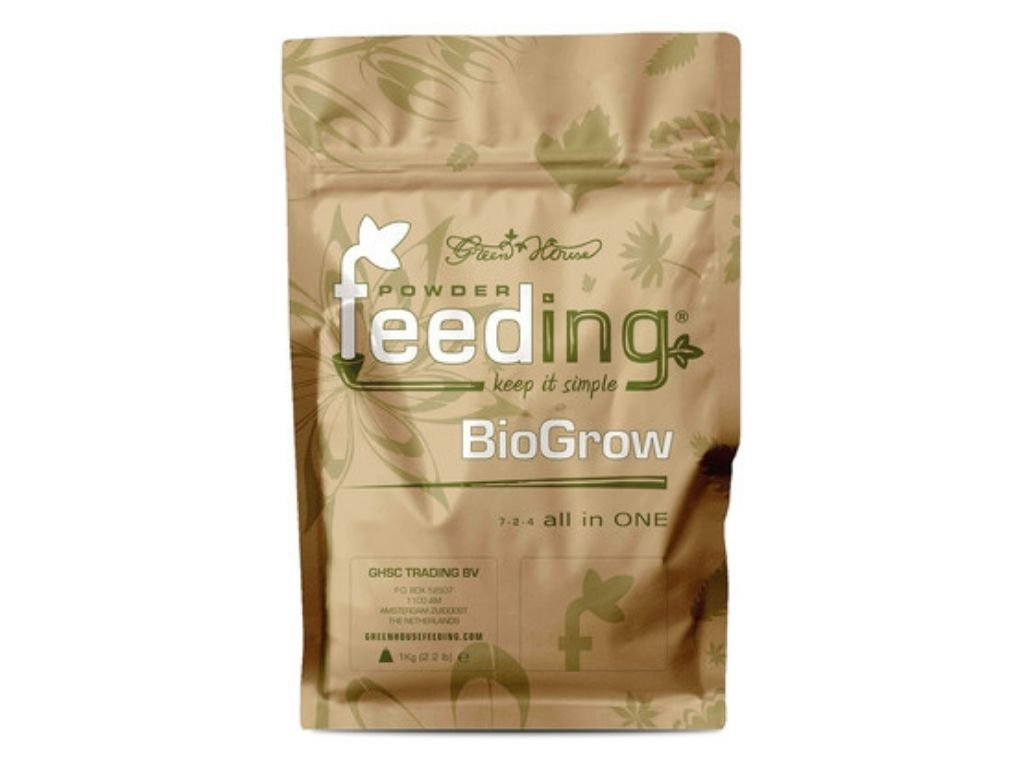 powder feeding biogrow