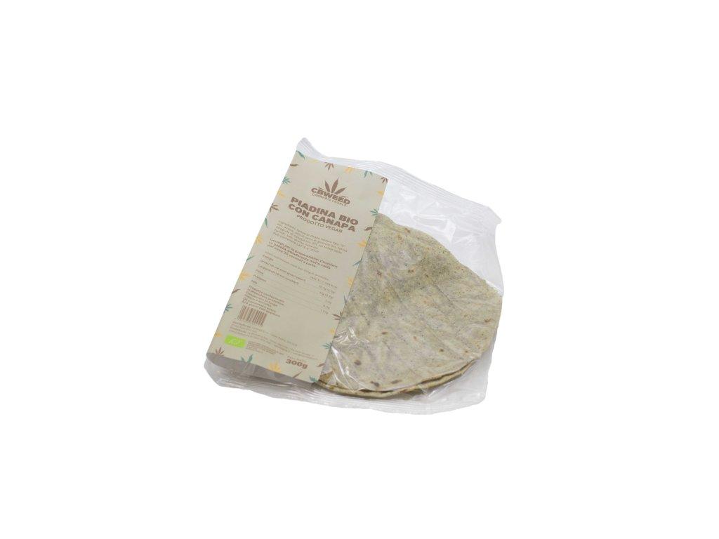 bio konopna tortila cbweed