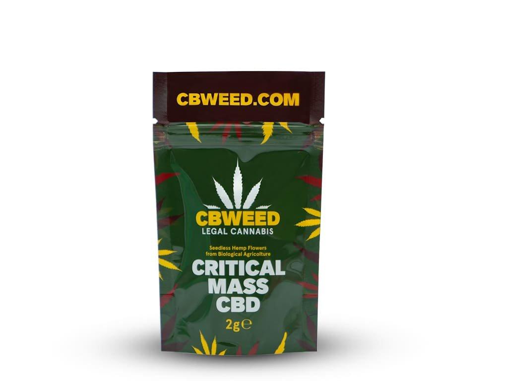 Critical mass cbd cbweed 2g