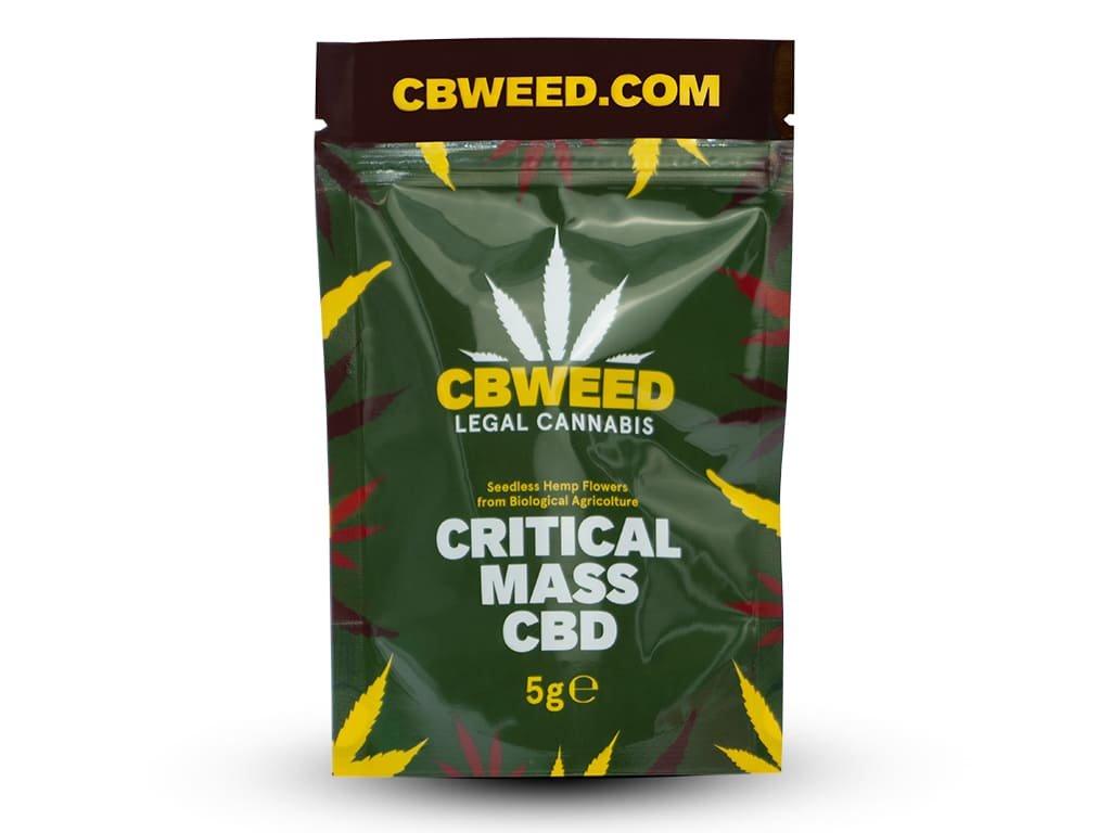 Critical mass cbd cbweed 5g