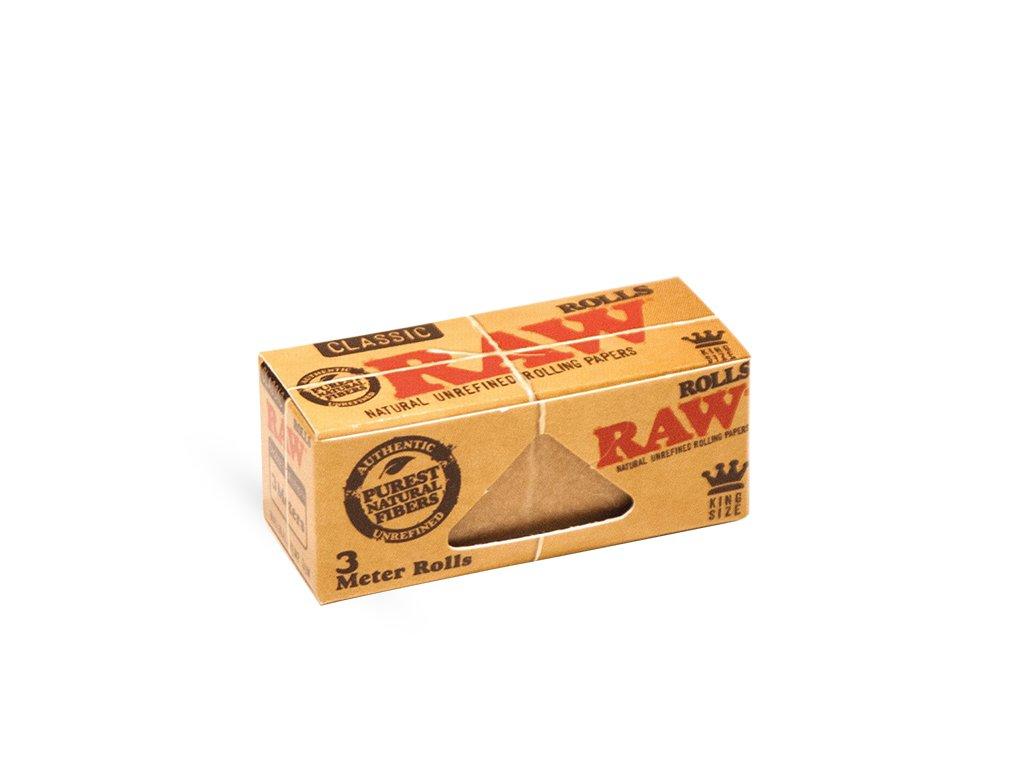 Raw Rolling paper Rolls 3m