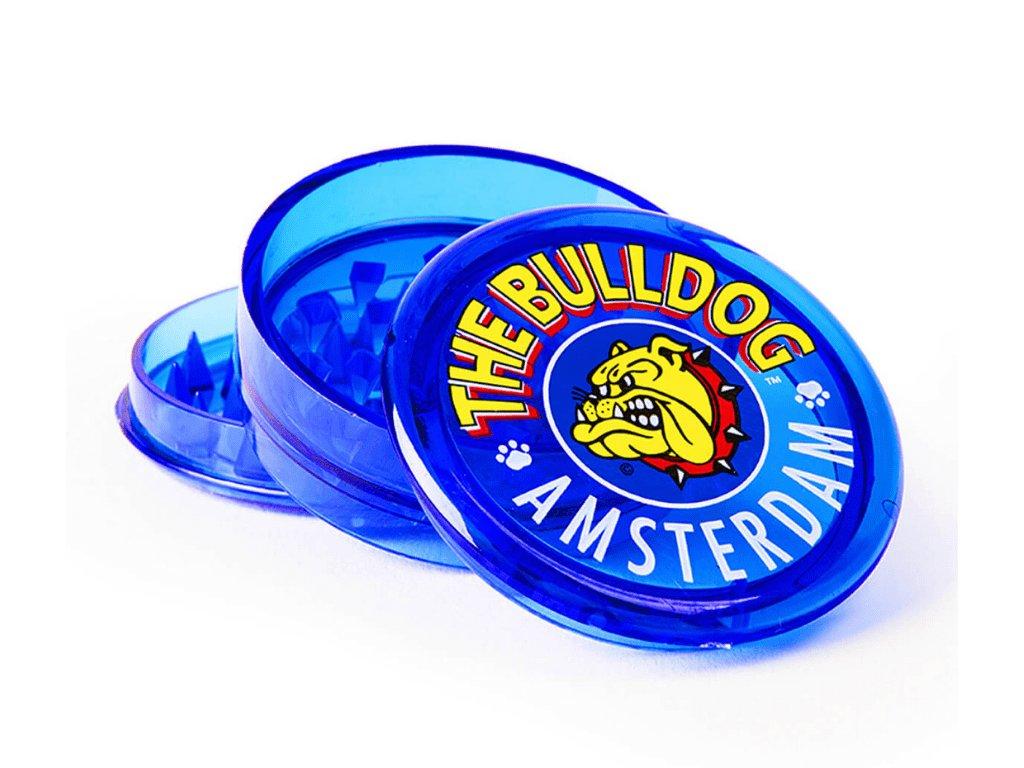 drticka the bulldog modra plastova