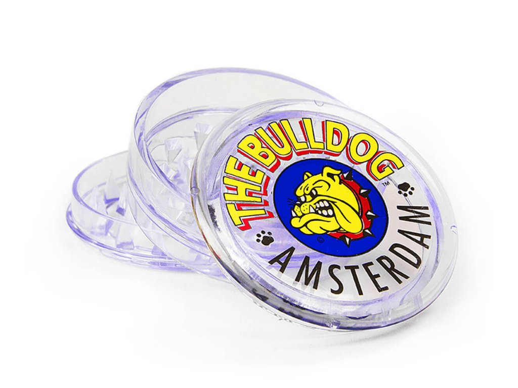 drticka the bulldog pruhledna plastova