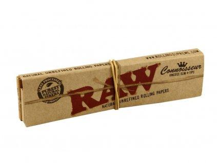 raw papirky king size slim s filtrama connoisseur