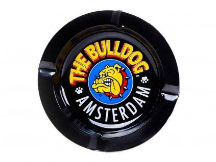 Popelník The Bulldog Plechový, Černý