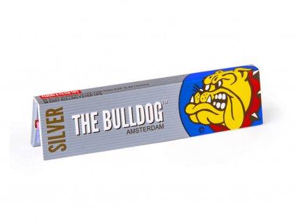papirky the bulldog silver king size slim s filtrama