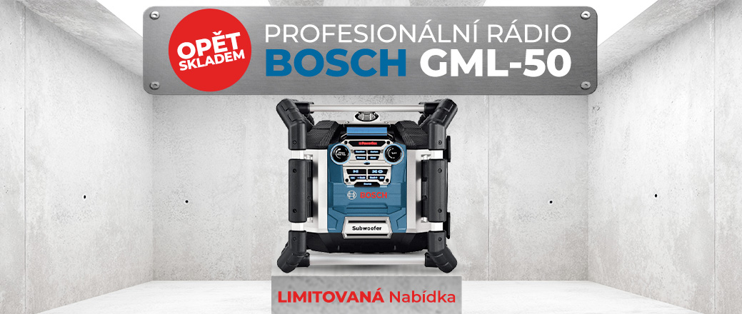 Radio Bosch GML 50