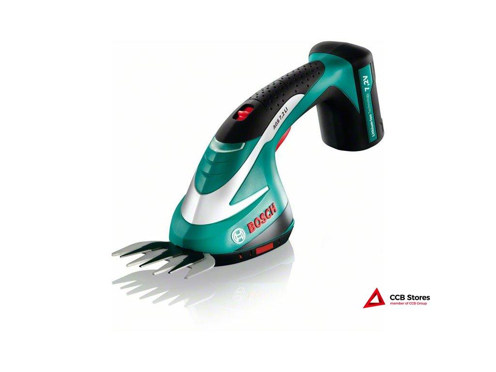 Akumulátorové nůžky na trávu AGS 7.2 LI 0600856000