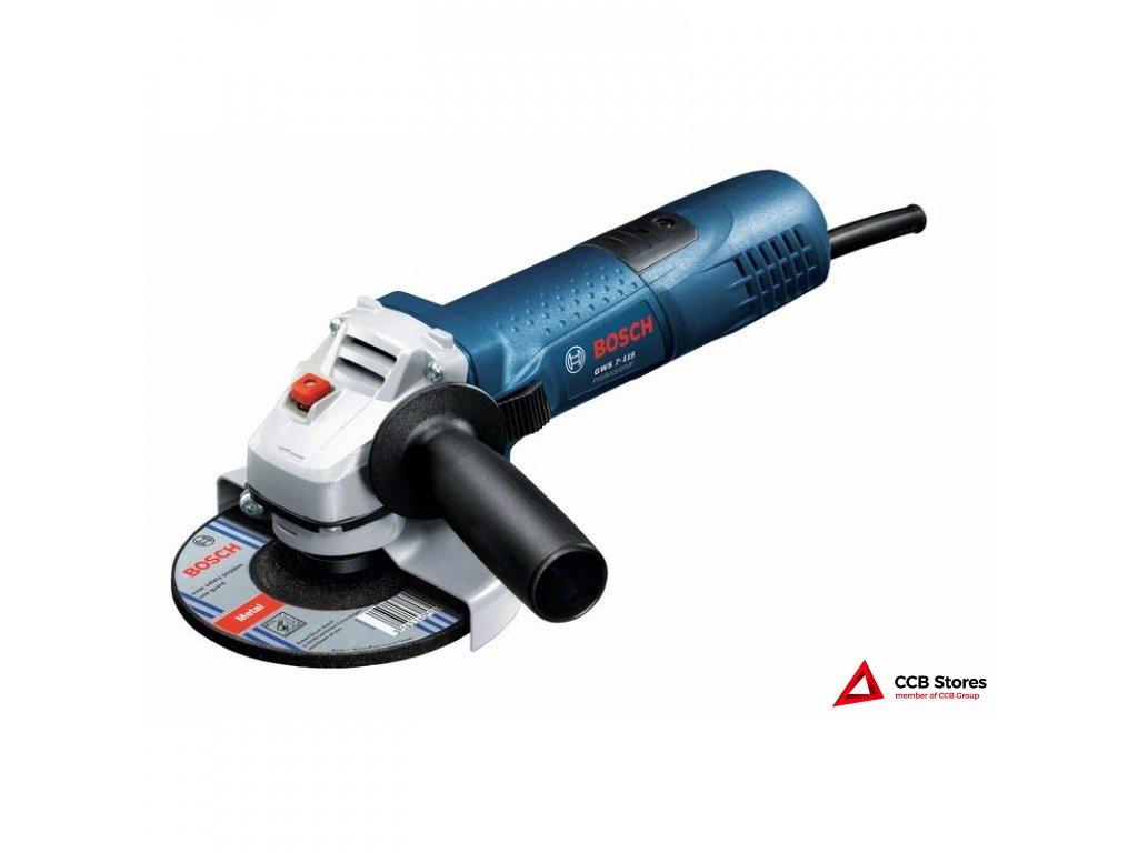 Úhlová bruska GWS 7-115 Professional 0601388106