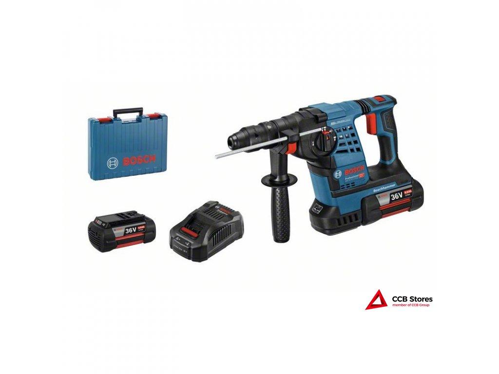 Akumulátorové vrtací kladivo sSDS plus GBH 36 V-LI Plus Pro 0611906003