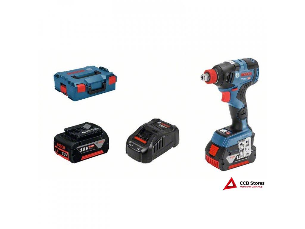 Akumulátorový rázový utahovák GDX 18V-200 C Professional 06019G4201