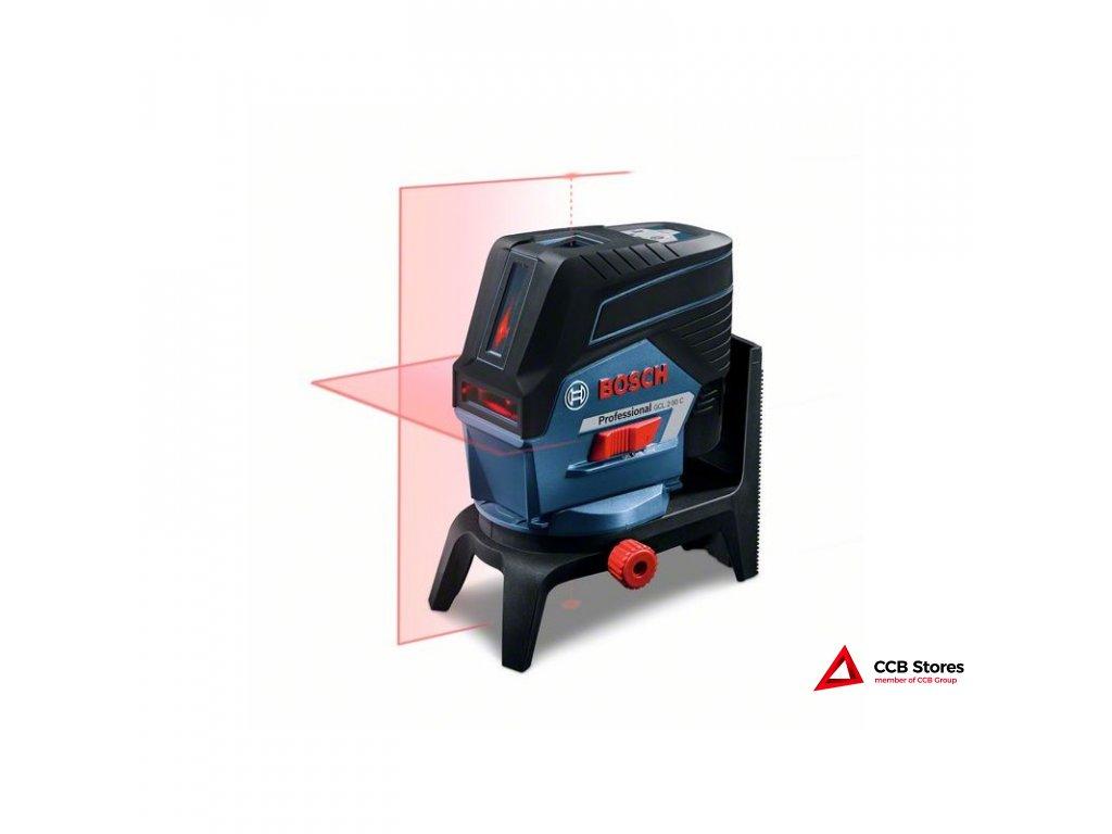 Sada: GCL 2-50 C křížový laser + BM 3 + RM 2 + 1 x aku 2,0 Ah + L-Boxx 136 0601066G03
