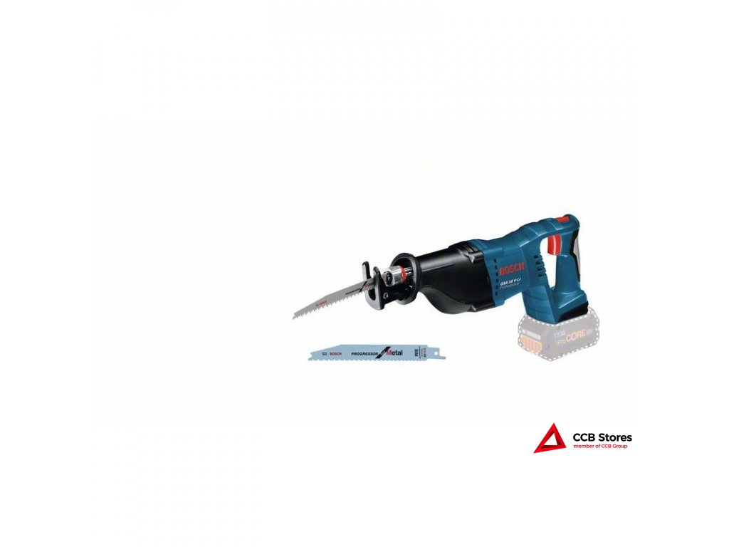 Akumulátorová pila ocaska GSA 18 V-LI Professional 060164J000