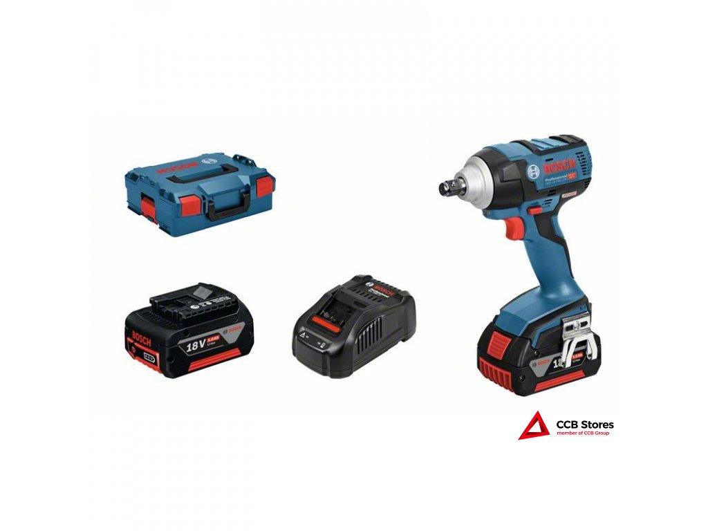 Akumulátorový rázový utahovák GDS 18 V-EC 250 Professional 06019D8104