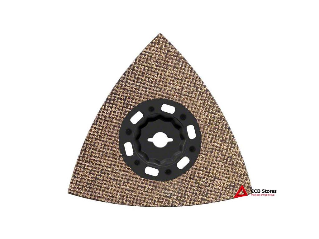 Karbidová brusná deska stvrdokovovými zrny Carbide RIFF MAVZ 116 RT6 116mm 2608662910