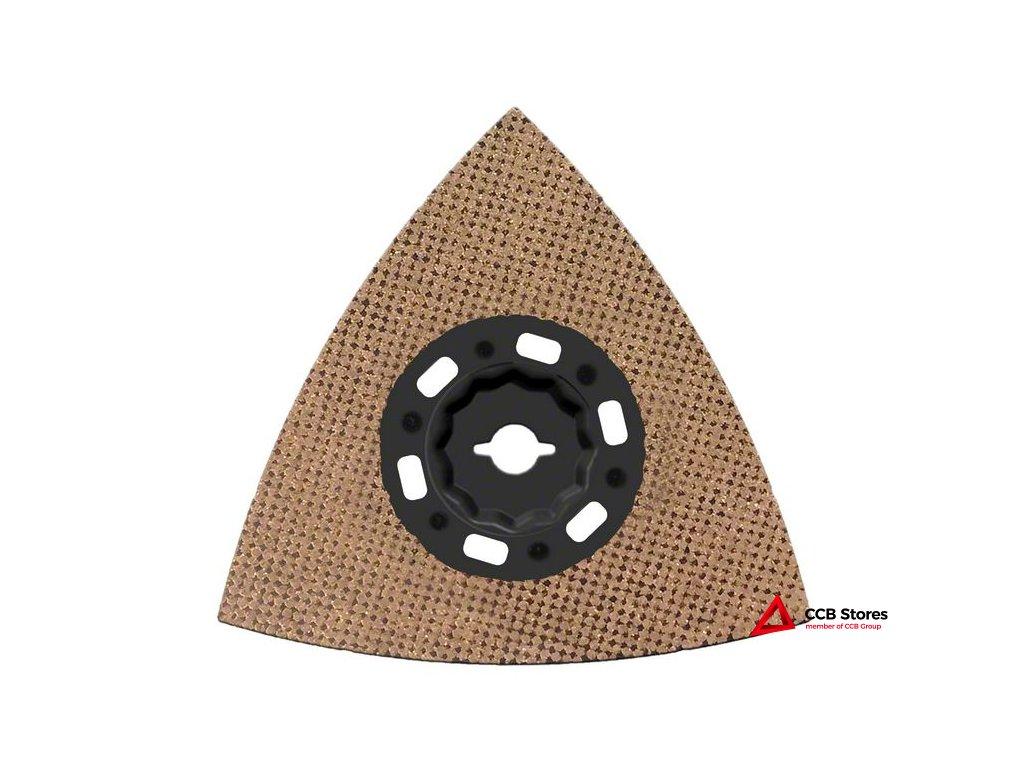 Karbidová brusná deska stvrdokovovými zrny Carbide RIFF MAVZ 116 RT10 116mm 2608662911