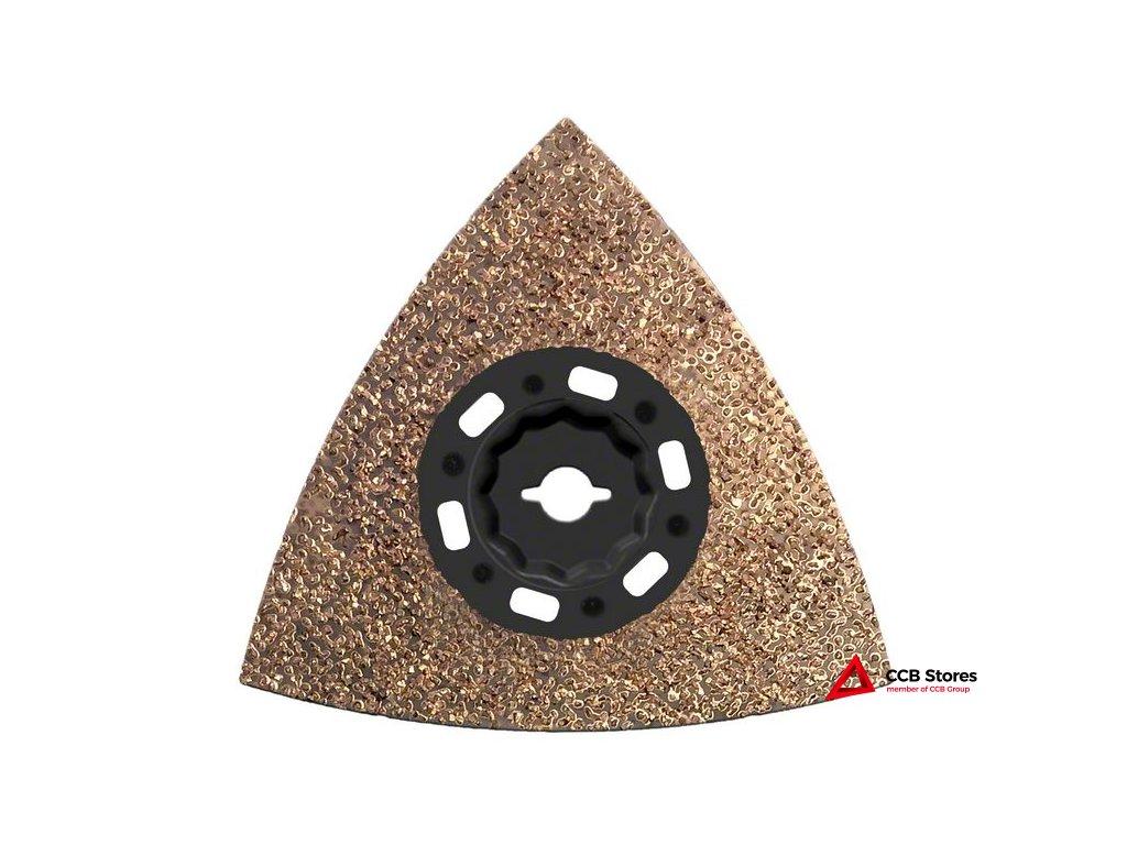 Karbidová brusná deska stvrdokovovými zrny Carbide RIFF MAVZ 116 RT2 116mm 2608664206