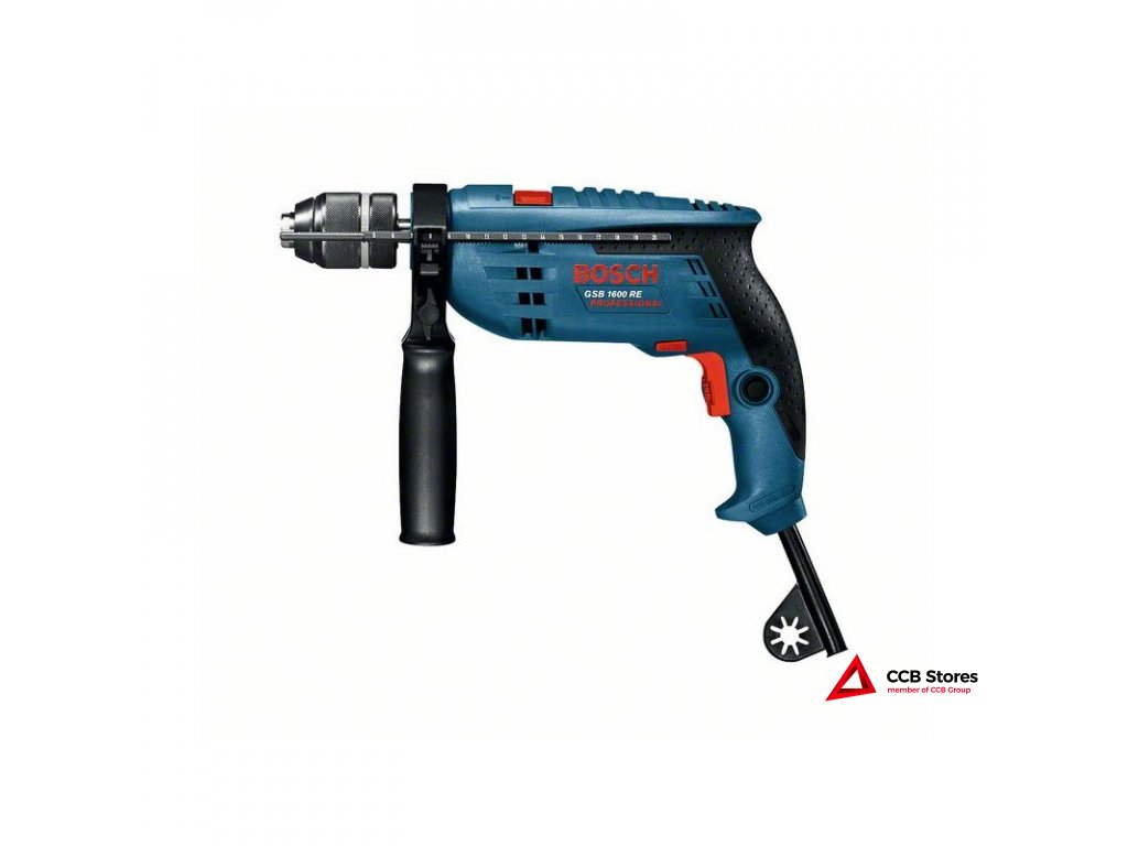 Příklepová vrtačka GSB 1600 RE Professional 0601218121
