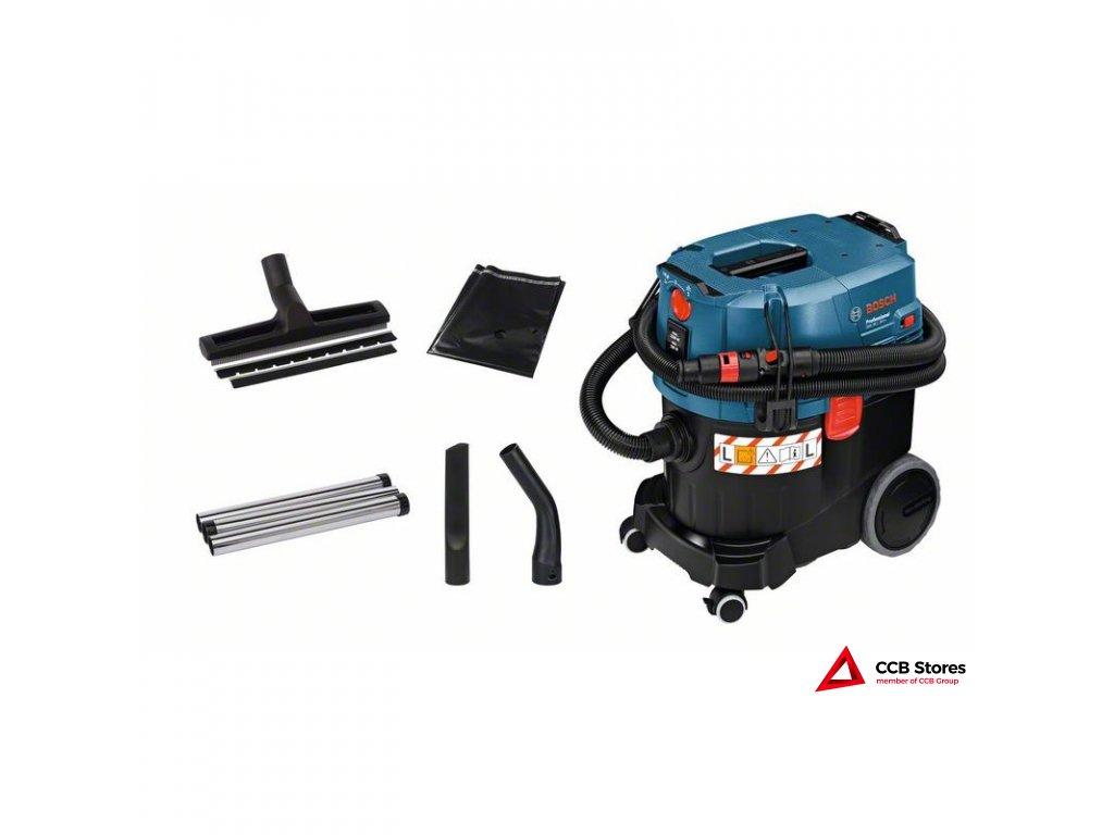 Vysavač na suché a mokré vysávání GAS 35 L SFC+ Professional 06019C3000  + prodloužená záruka 3 roky + taška Bosch Professional v hodnotě 499,- Kč