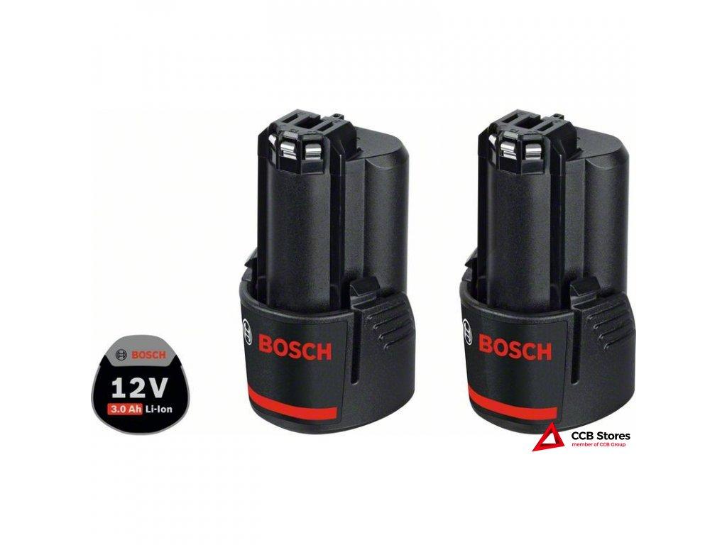 Akumulátor 2× GBA 12V 3.0Ah Professional 1600A00X7D