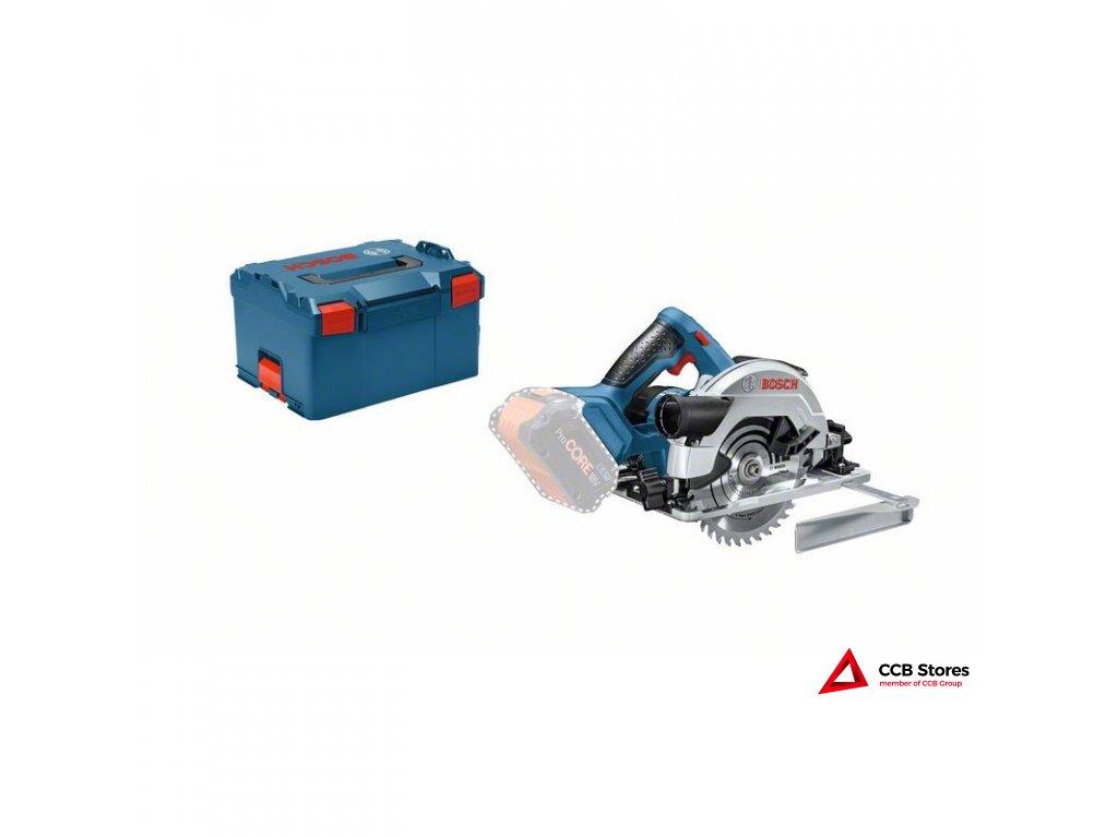Akumulátorová okružní pila GKS 18V-57 G Professional 06016A2101