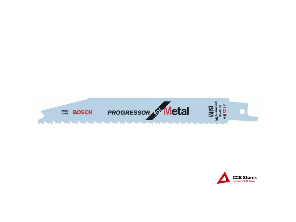 Pilový plátek do pily ocasky S 123 XF Progressor for Metal 2608654401