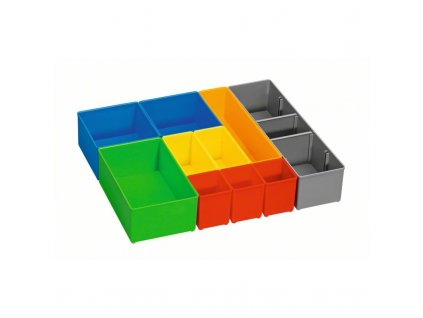 Boxy kuložení malých dílů i-BOXX 72 inset box set 10 kusů P 1600A001S6