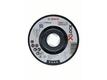Broušení spřesazeným středem Expert for Metal systému X-LOCK, 115×6×22,23 A 30 T BF, 115 mm, 6,0 mm 2608619258