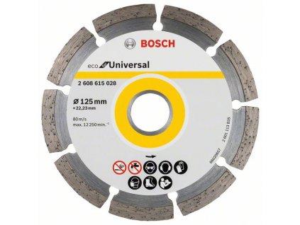 Diamantový dělicí kotouč ECO For Universal 125x22.23x2.0x7 2608615041