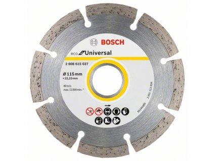 Diamantový dělicí kotouč ECO For Universal 115x22.23x2.0x7mm 2608615027