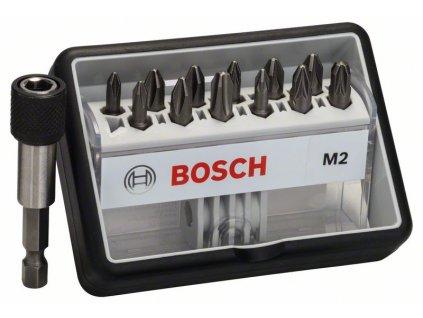 (12+1)dílná sada šroubovacích bitů Robust Line, M Extra-Hart 25 mm, (12+1)dílná sada 2607002564