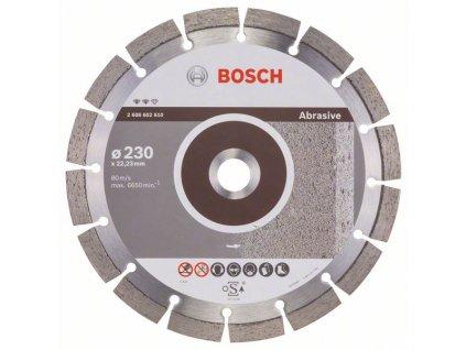 Diamantový dělicí kotouč Expert for Abrasive 230 x 22,23 x 2,4 x 12 mm 2608602610