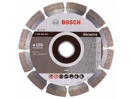 Diamantový dělicí kotouč Standard for Abrasive 150 x 22,23 x 2 x 10 mm 2608602617