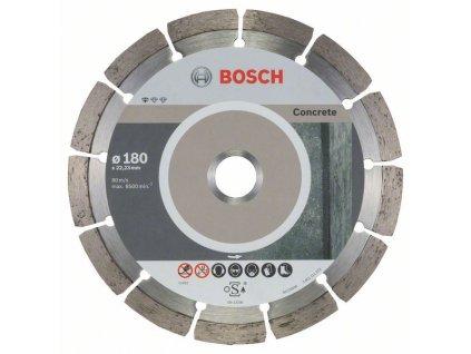 Diamantový dělicí kotouč Standard for Concrete 180 x 22,23 x 2 x 10 mm 2608603242