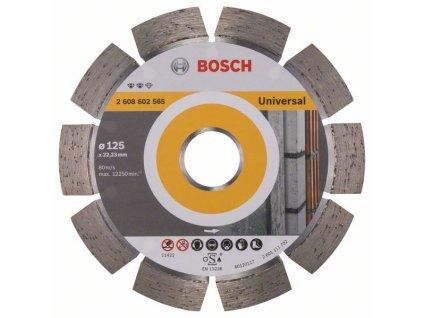 Diamantový dělicí kotouč Expert for Universal 125 x 22,23 x 2,2 x 12 mm 2608602565