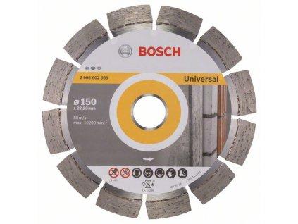 Diamantový dělicí kotouč Expert for Universal 150 x 22,23 x 2,4 x 12 mm 2608602566