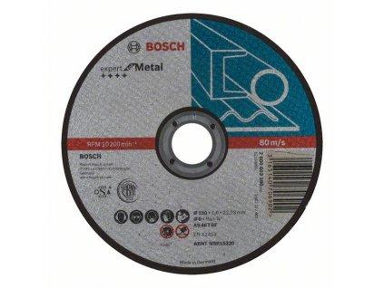 Dělicí kotouč rovný Expert for Metal AS 46 T BF, 150 mm, 1,6 mm 2608603398
