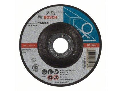 Dělicí kotouč profilovaný Expert for Metal AS 30 S BF, 125 mm, 3,0 mm 2608603402