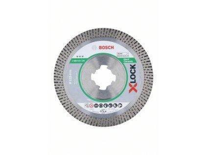 Diamantový řezný kotouč Best for Hard Ceramic systému X-LOCK, 115×22,23×1,4×10 115x22,23x1.4x10 mm 2608615134