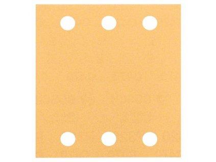 Brusný papír C470, balení 10 ks 115 x 107 mm, 80 2608607457