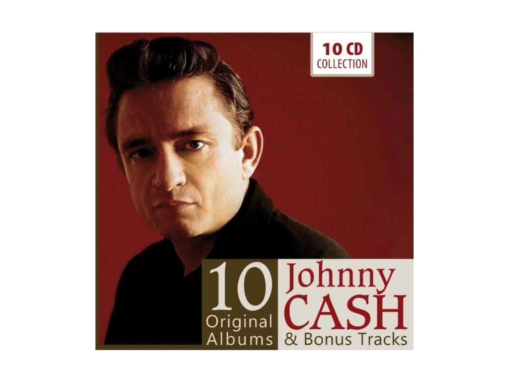 JOHNNY CASH - 10 Original Albums (CD Box Set)