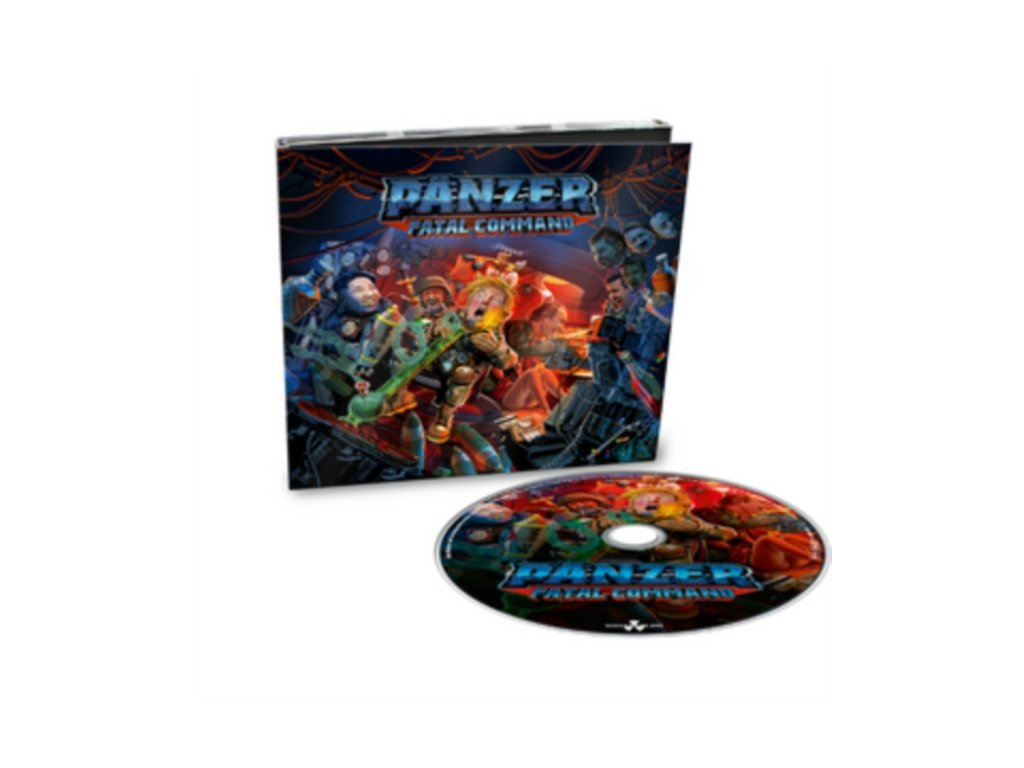 Pänzer - Fatal Command [Limited Digipack CD] Limited Edition