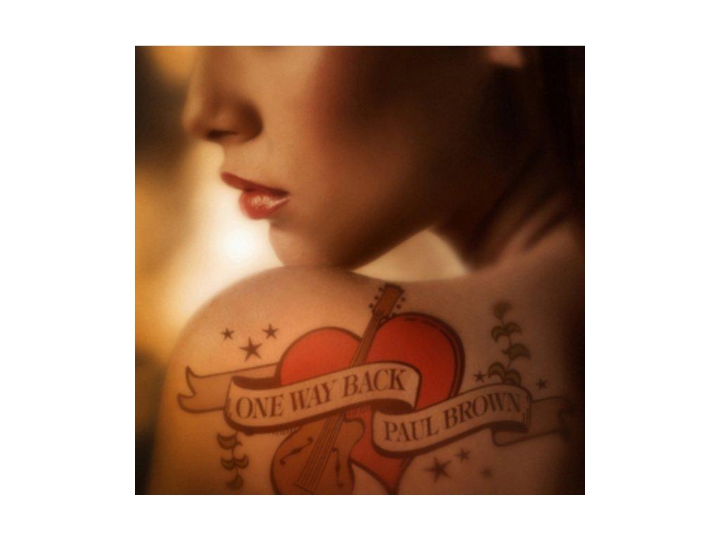 Paul Brown - One Way Back (Music CD)