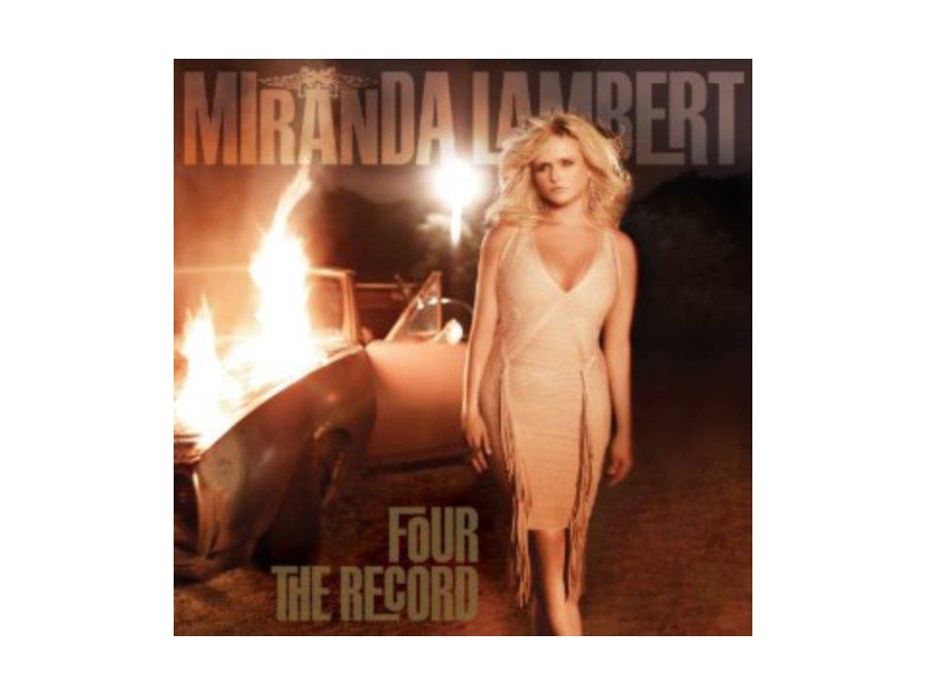Miranda Lambert - Four the Record (Music CD)