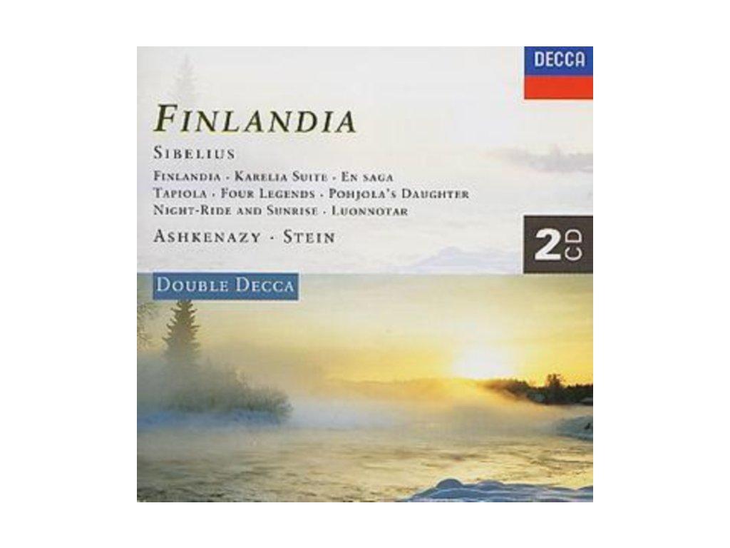 Jean Sibelius - Finlandia (Philharmonia Orchestra  Ashkenazy) (Music CD)