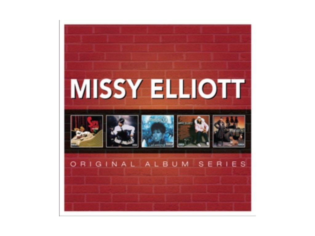 Missy Elliott - Original Album Series (Music CD)