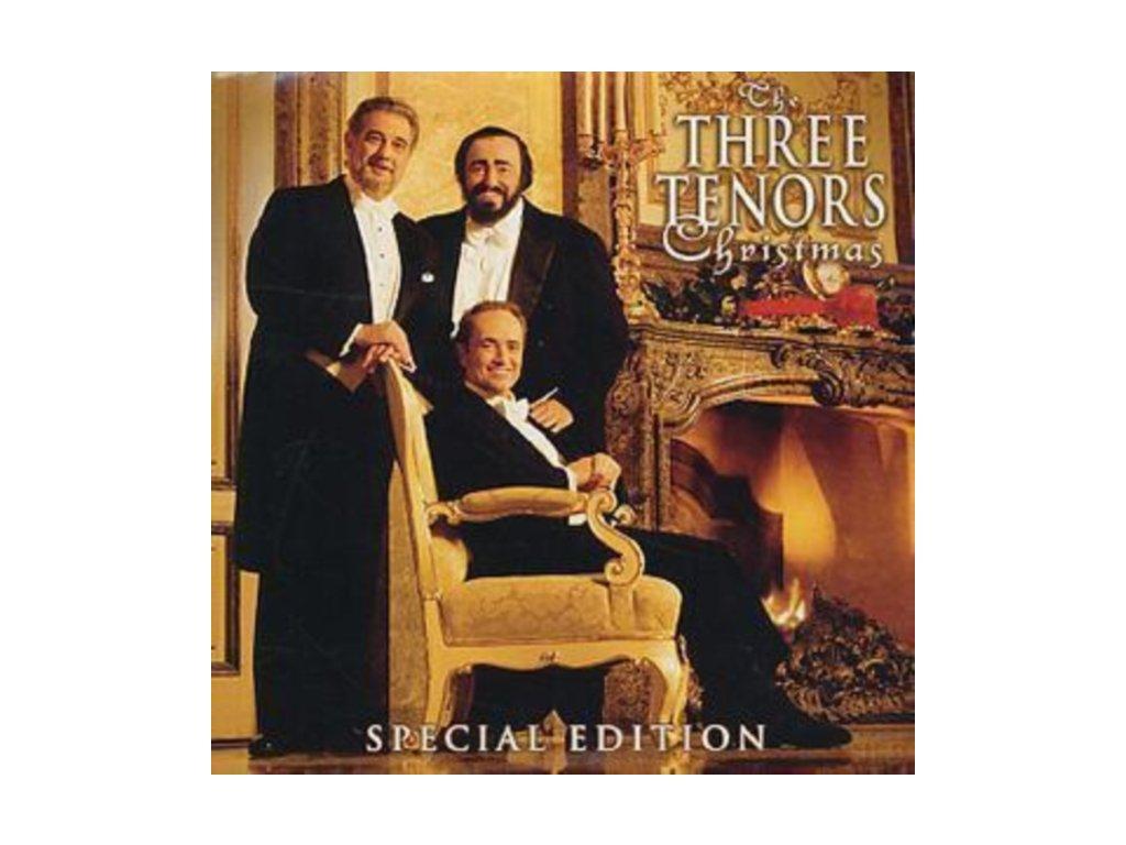 Pavarotti/Domingo/Carreras - Three Tenors Christmas (Expanded Version) (Music CD)