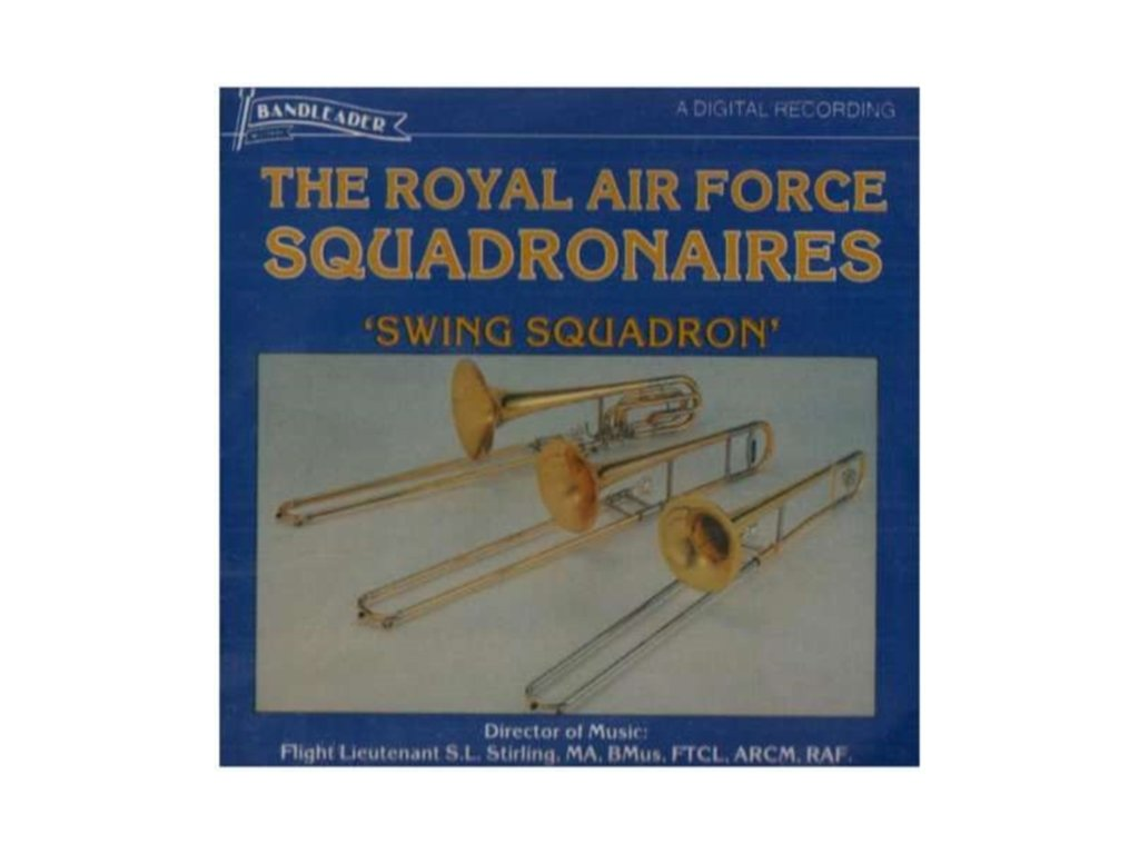 ROYAL AIRFORCE SQUAD - Swing Squadron (CD)